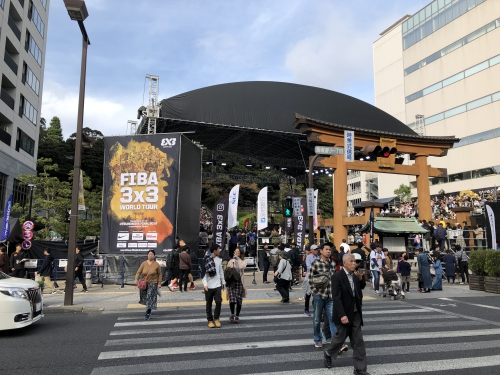 FIBA3x3 World Tour Final メディカル
