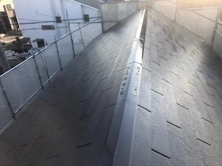 坂戸市で屋根塗装工事が完了しました