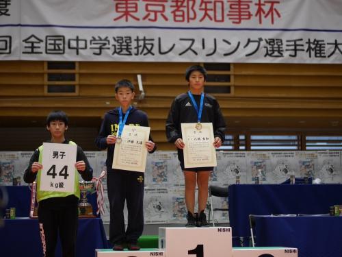 CENA選手全国中学選抜レスリング選手権大会優勝!!
