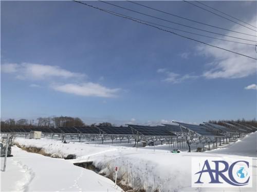 北海道で全量売電型産業用太陽光発電♬
