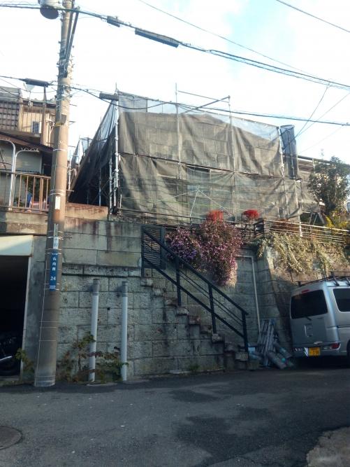 横浜市保土ケ谷区某所塗装工事