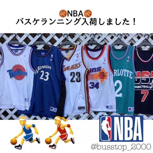 NBAのバスケランニング入荷しました!