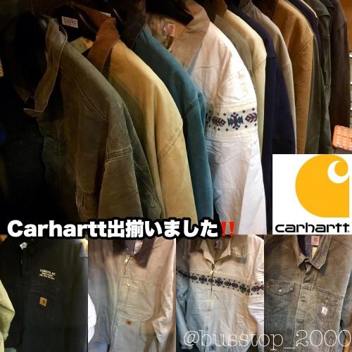 Carharttジャケット入荷です!