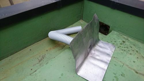 板橋区大山金井町で雨漏り修理を実施しました!