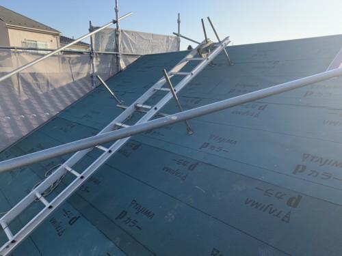 練馬区で屋根の葺き替えを実施しました!