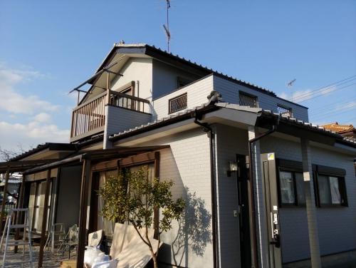 熊谷市で外壁塗装工事が完了しました