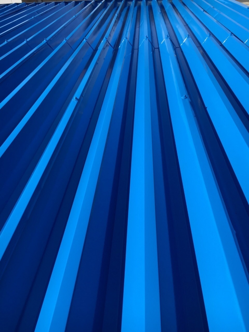 東松山市で倉庫屋根塗装工事を施工しました