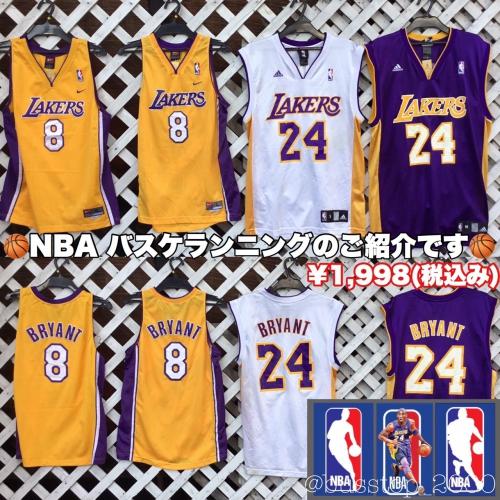 NBAバスケユニフォームのご紹介です!!