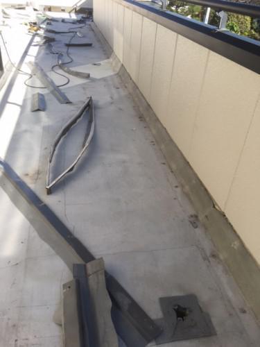練馬区石神井南町で雨漏り修理を実施しました!