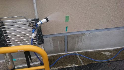 豊島区要町で雨漏り調査を実施しました!