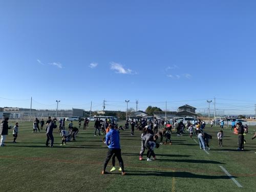 2020年ポルターラ初蹴り親子サッカー
