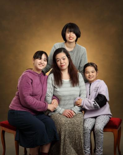 心温まる家族写真