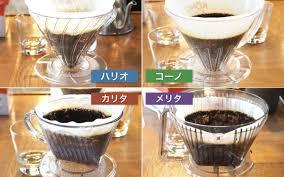 ペーパードリップで美味しいコーヒー