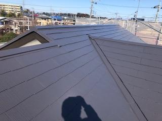 鶴ヶ島市で屋根塗装工事が完了しました
