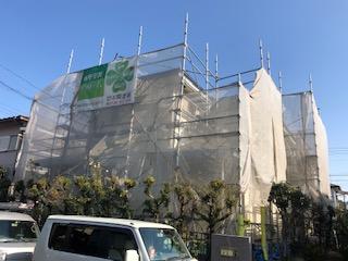 鶴ヶ島市で屋根・外壁高圧洗浄工事を施工しました