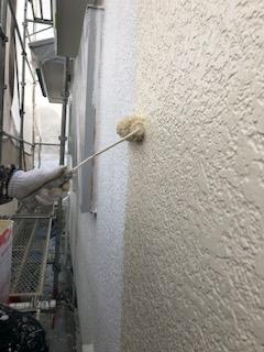 鶴ヶ島市で外壁塗装工事を施工してきました