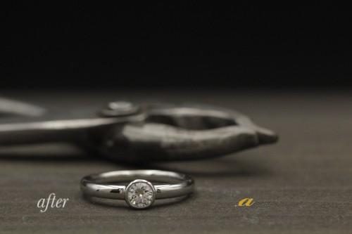 婚約指輪のリフォームなら専門店のアキラジュエリーへ