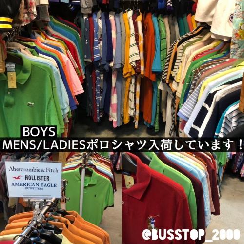 MENS/LADIES/BOYSポロシャツ入荷しています☆