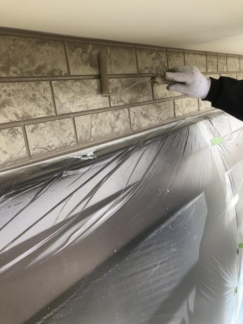 川越市でサイディングの塗装工事を施工してきました