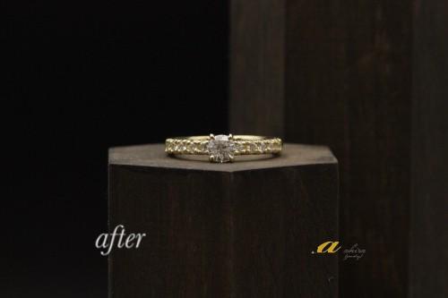 神奈川県厚木市から婚約指輪のご注文で御来店下さいました