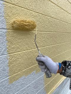 無機塗装工事を施工してきました