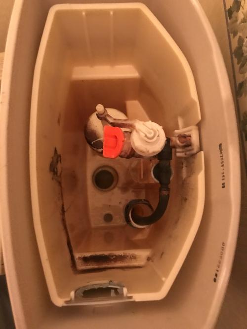 さいたま市にてトイレ修理実施。