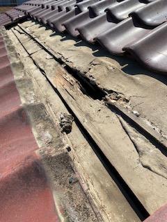 狭山市で屋根の雨漏り調査をしてきました