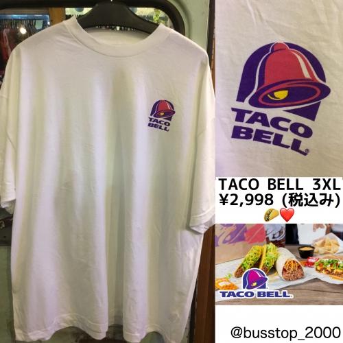 TACO BELL☆3XLサイズ入荷です!