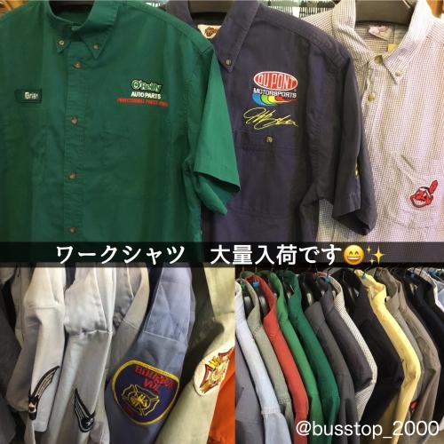 ワークシャツ大量入荷です‼︎
