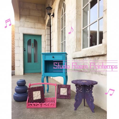女の子会の家具