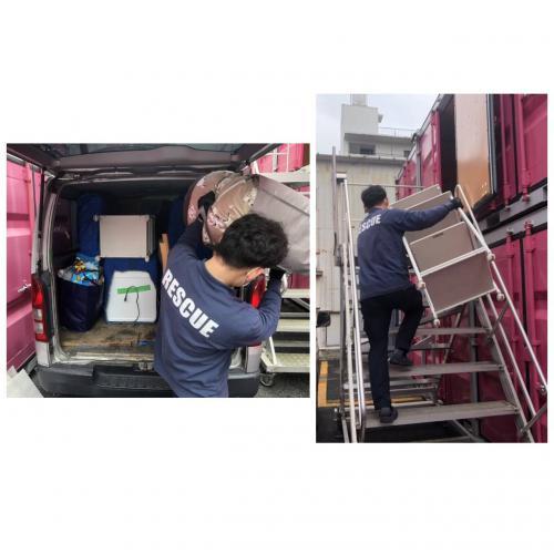 神奈川県 ハイエースプラン お荷物移動 運搬作業