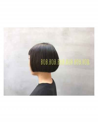 ボブ BOB   オン眉 代官山 美容室