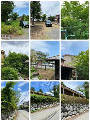 お庭の草刈り除草と生垣手入れ作業を八王子市便利屋サンライフ