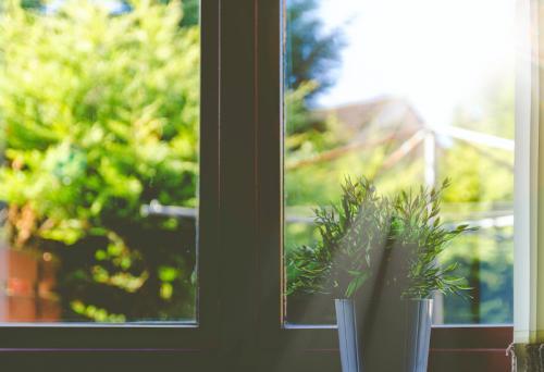 窓と鏡の話