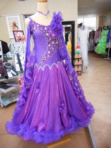モダンドレス紫