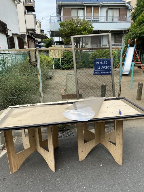 東京都国分寺市 網戸の張替えです
