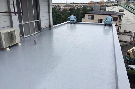 藤沢市で陸屋根防水工事は高品質施工のマルセイテックへ