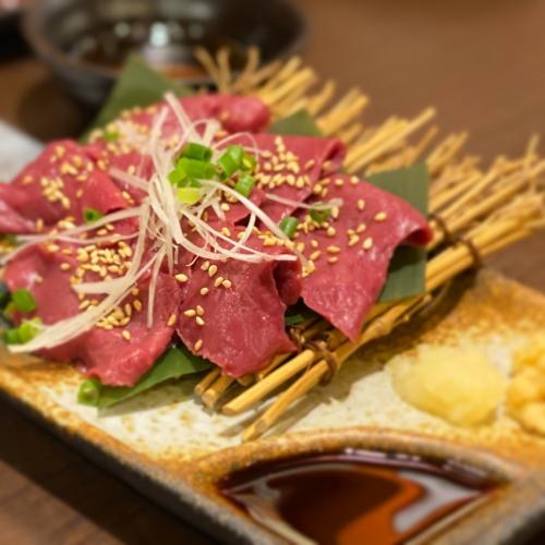 超名物!東京で自慢のハツ刺しを食べよう!鮮度抜群!