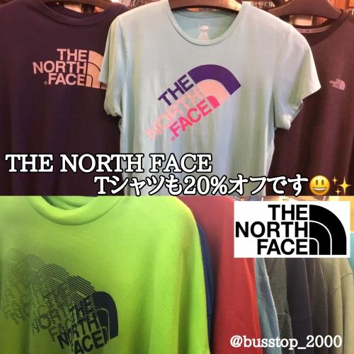 -The North Face-Tシャツも20%オフです!