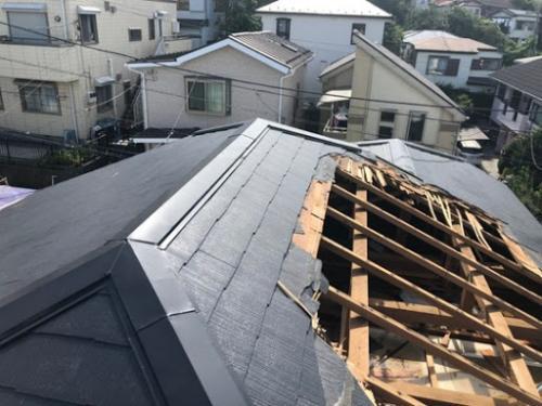 相模原市で火災保険利用の屋根工事はマルセイテックへ