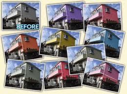 相模原市での外壁塗装工事は安いと評判のマルセイテックへ
