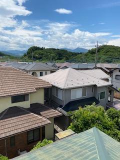 小川町で屋根の補修工事を施工してきました