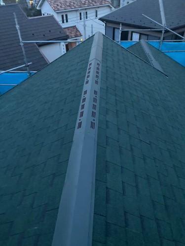 【大和市福田A様邸】屋根重ね葺きカバー工法