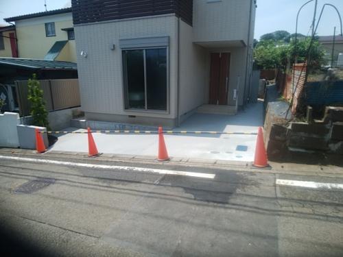 瀬谷区で外構工事。