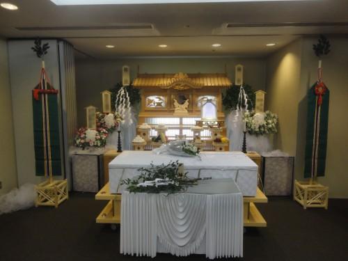 さようなら。。。埼葛斎場 やすらぎ 葬儀 家族葬