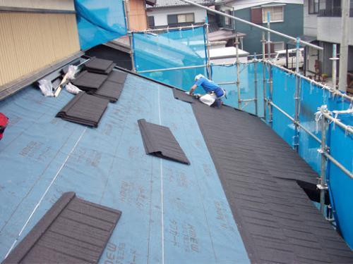 【座間市】屋根葺き替え工事は安心と実績のマルセイテックへ