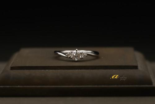 市原市からお越しのお客様婚約指輪のオーダーメイド