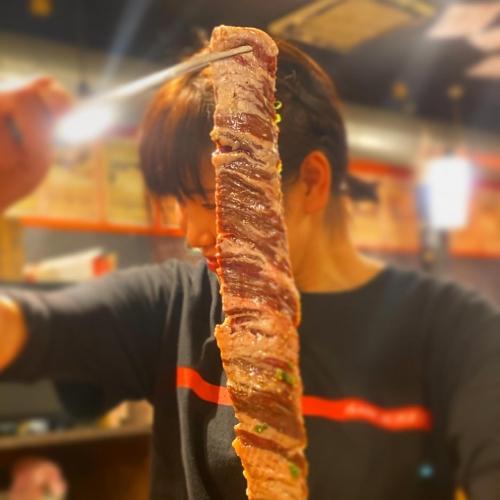 大衆焼肉酒場 房総ホルモン渋谷本店が旨い‼️七輪炭火焼き
