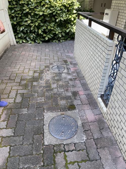 東京都荒川区町屋 排水管詰まり除去工事
