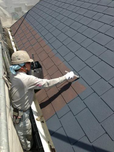 旭区にて適正価格安心施工の屋根塗装はマルセイテックへ